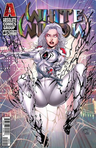 White Widow (2018) #5 (RETAIL CHICAGO FOIL)