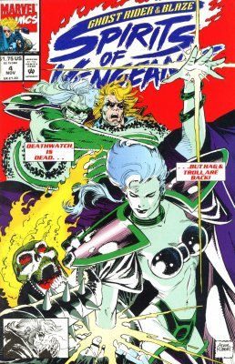 Ghost Rider/Blaze: Spirits of Vengeance (1992) #4