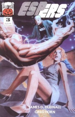 Espers (1996) #3 (Signed by James D. Hudnall)