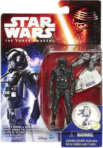 "Star Wars VII First Order TIE Fighter Pilot 3.75"" Action Figure"