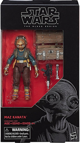 Star Wars 6-Inch Episode VIII Maz Kanata Action Figure