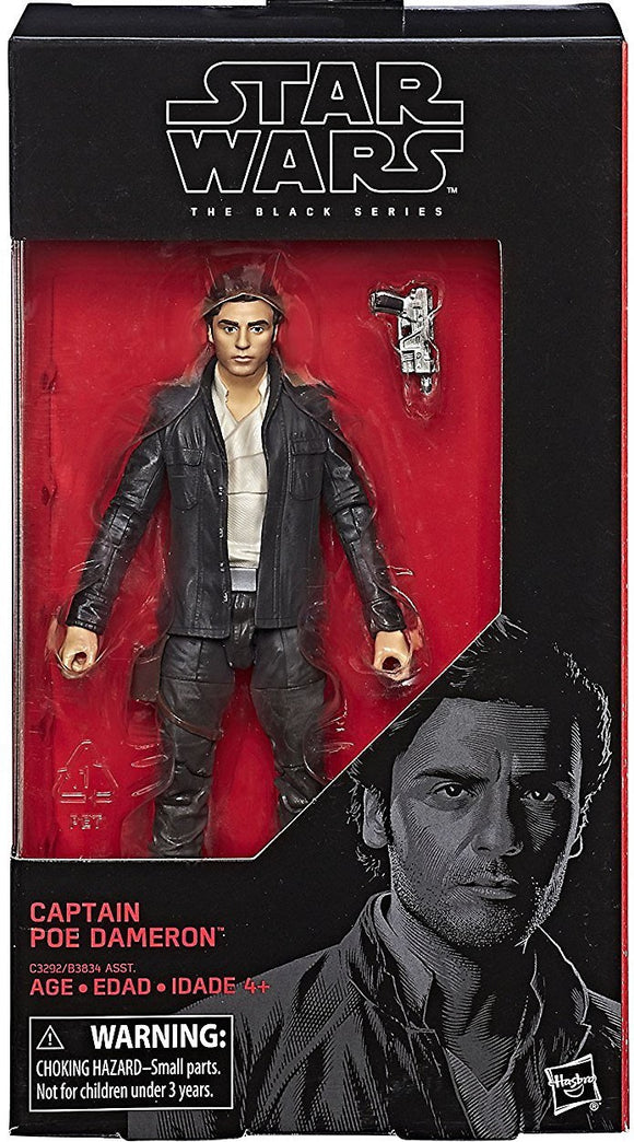 Star Wars 6-Inch Episode VIII Captain Poe Dameron Action Figure