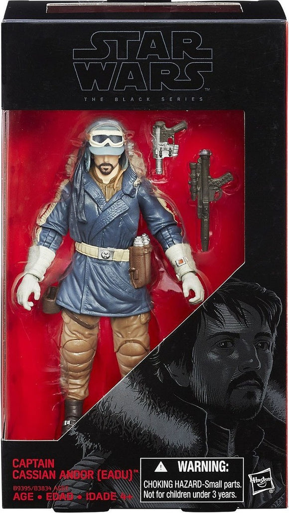 Star Wars Rogue One 6-Inch Captain Cassian Andor Eadu Action Figure