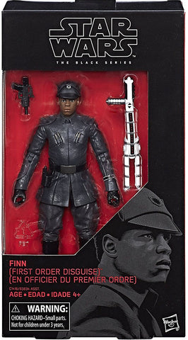 Star Wars 6-Inch Episode VIII Finn First Order Disguise Action Figure