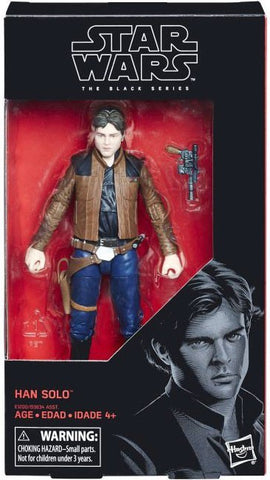 Star Wars Black Series 6-Inch Han Solo (Young) Action Figure
