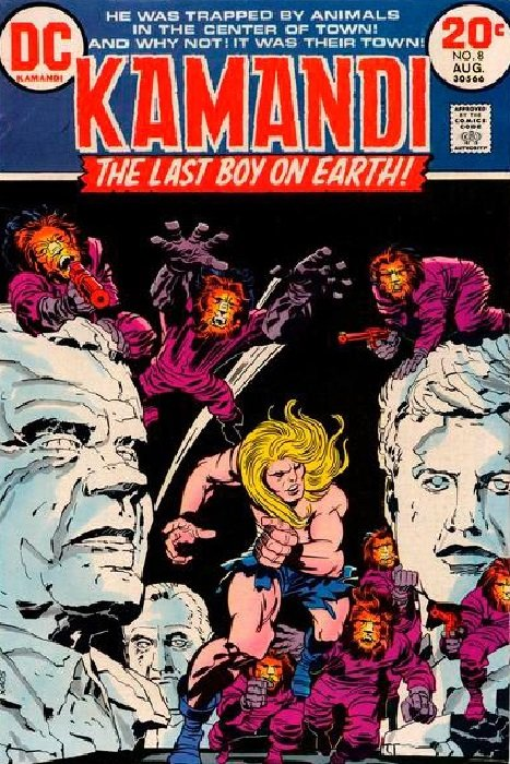 Kamandi, the Last Boy on Earth (1972) #8