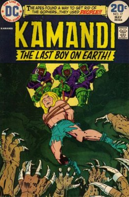 Kamandi, the Last Boy on Earth (1972) #17