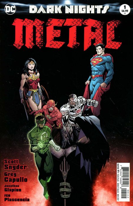 Dark Nights Metal (2017) #1 (2nd Print)