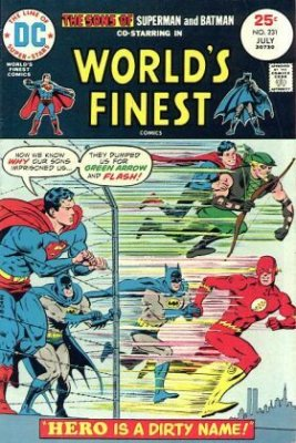 Worlds Finest Comics (1941) #231