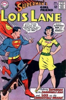 Supermans Girlfriend Lois Lane (1958) #78