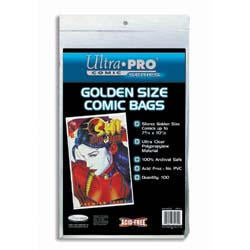 Comic Bags - Golden-Age (100 count pack)