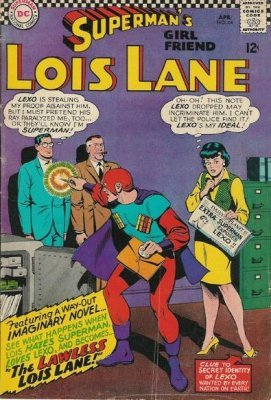 Supermans Girlfriend Lois Lane (1958) #64