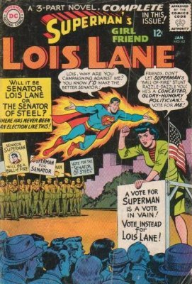 Supermans Girlfriend Lois Lane (1958) #62