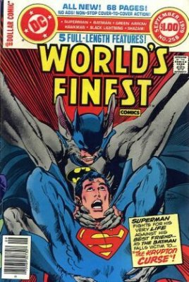 Worlds Finest Comics (1941) #258