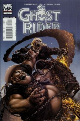 Ghost Rider (2005) #3 (Signed by Clayton Crain)