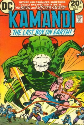Kamandi, The Last Boy on Earth (1972) #12