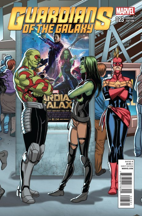 Guardians of the Galaxy (2013) #23 (1:20 Welcome Home Variant)