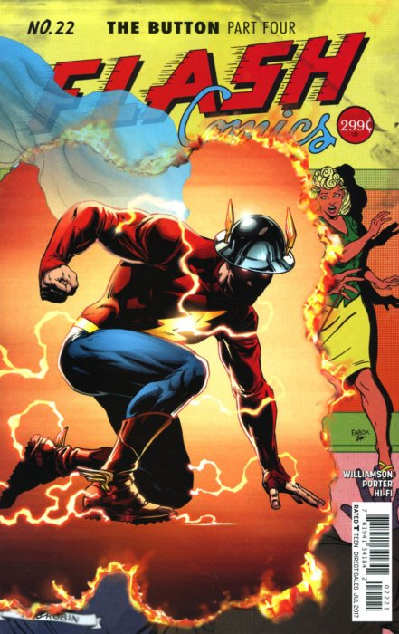 Flash (2016) #22 (Variant Edition)