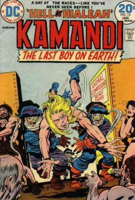 Kamandi, the Last Boy on Earth (1972) #13