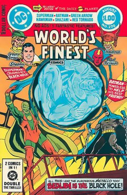 Worlds Finest Comics (1941) #270