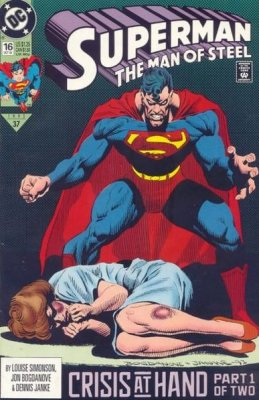Superman: The Man of Steel (1991) #16