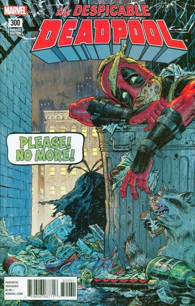 Despicable Deadpool (2017) #300 (1:25 Moore Variant)