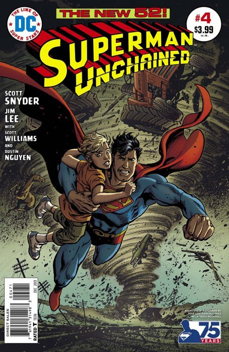 Superman Unchained (2013) #4 (1:50 75th Anniversary Variant Bronze Age)