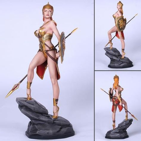 Fantasy Figure Greek Myth Athena 1/6 Scale Resin Statue