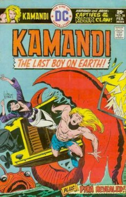 Kamandi, The Last Boy on Earth (1972) #38
