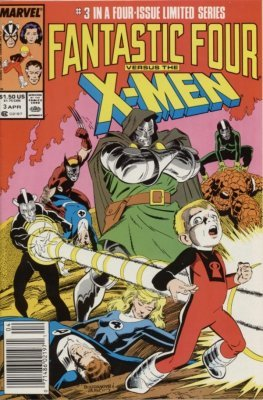 Fantastic Four Vs. X-Men (1987) #3