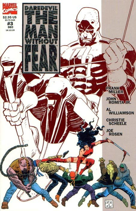 Daredevil the Man Without Fear (1993) #3