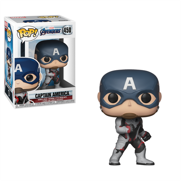 Pop Marvel Avengers Endgame Captain America Vinyl Figure