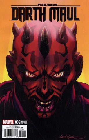 Darth Maul (2017) #5 (1:25 Lopez Variant Re-Release)