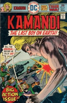 Kamandi, the Last Boy on Earth (1972) #34