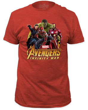 Avengers Infinity War Hulk Group Unisex T-Shirt