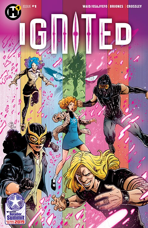 IGNITED (2019) #1 (Retailer Summit Variant - Signed by Mark Waid)