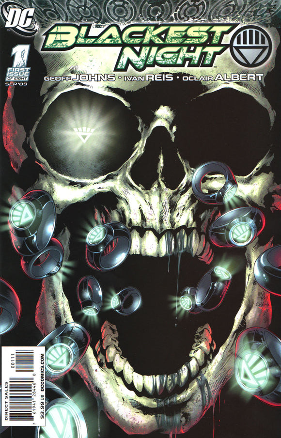 Blackest Night (2009) #1