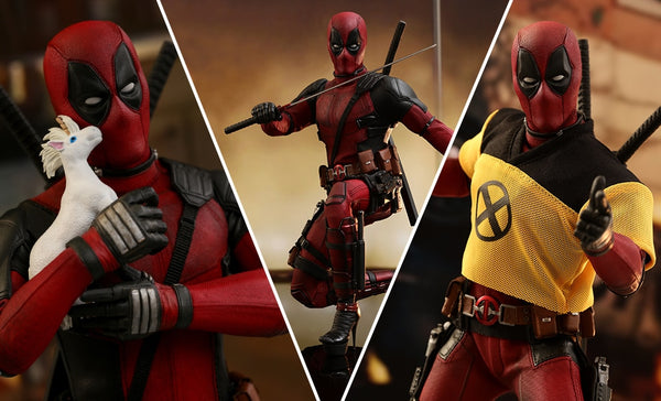 Deadpool 1:6 Scale Action Figure - Deadpool 2 Hot Toys