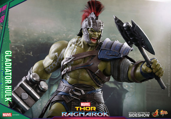 Gladiator Hulk 1:6 Scale Action Figure - Thor Ragnarok Hot Toys