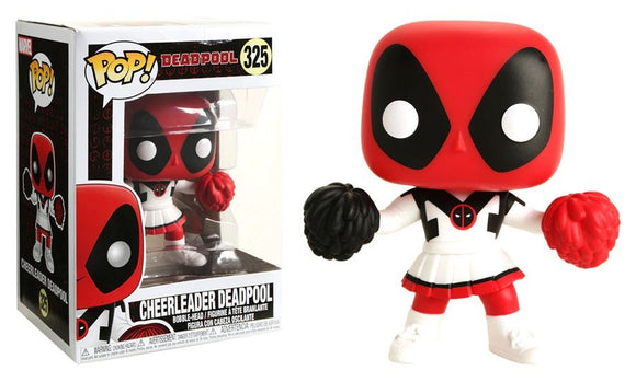 POP MARVEL CHEERLEADER DEADPOOL EXCLUSIVE VINYL FIGURE #325
