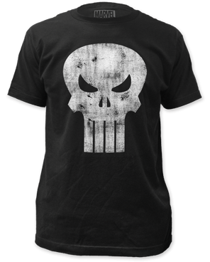 Punisher Distressed Logo Unisex T-Shirt