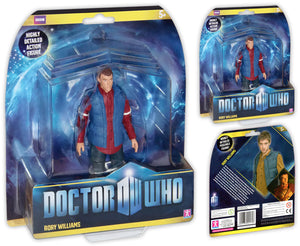 Doctor Who Rory With Red Shirt & Blue Body Warmer Action Figure