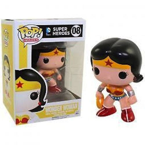 Pop Heroes Wonder Woman Vinyl Figure