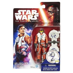 "Star Wars VII Poe Dameron 3.75"" Action Figure"