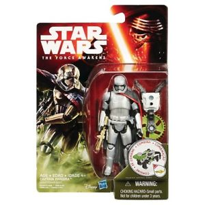 "Star Wars VII 3.75"" Captain Phasma Action Figure"