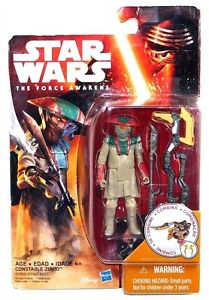 "Star Wars VII Constable Zuvio 3.75"" Action Figure"