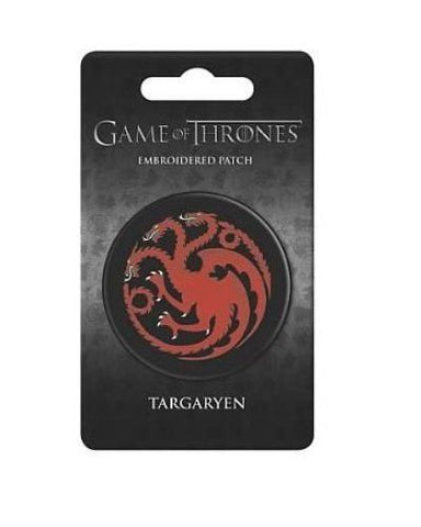 Game Of Thrones Crest Patch Targaryen MultiColor