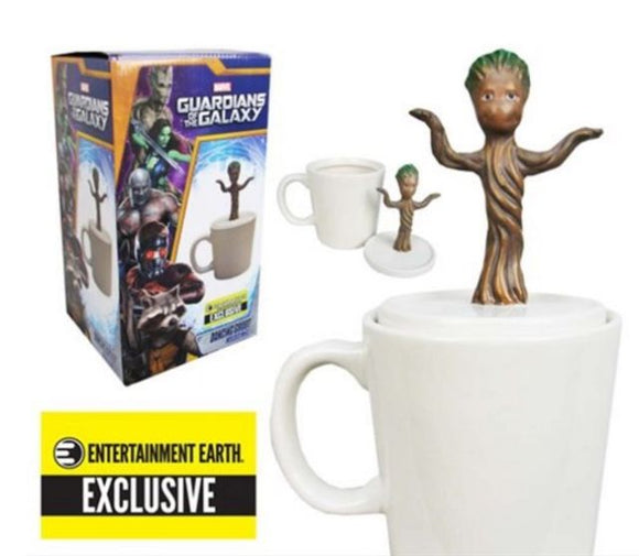 Guardians of the Galaxy Baby Dancing Groot Figural Mug