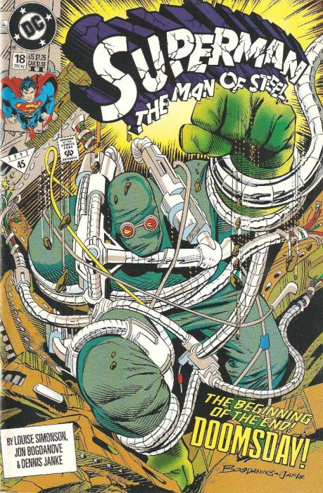 Superman: The Man of Steel (1991) #18 (2nd Print)