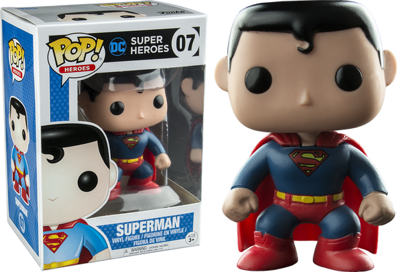 Pop Heroes Superman Vinyl Figure